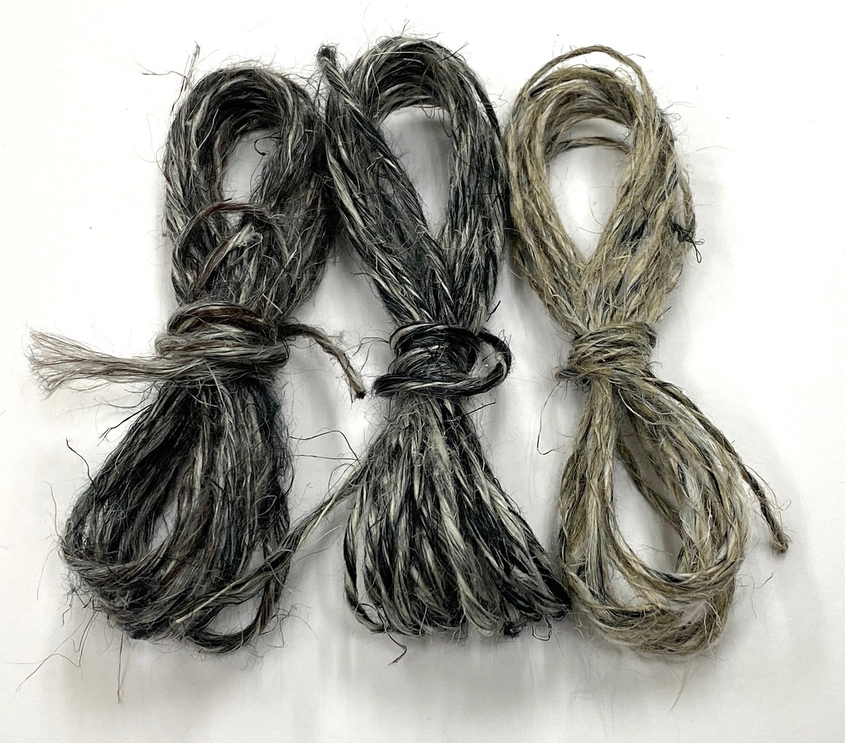 wet spun old tradition knitting special color multigrey