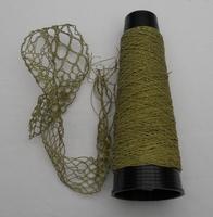 Micro Glas perlen garne  = 60/1 Nec goldfarbig 50 meter/cone
