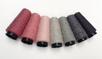 Bourette de Luxe   100% Seide 20/1Nm 7 Pinky Grey 7 cones