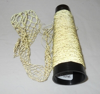 Micro perles de verre fil tres fin  = 60/1 Nec colour or 50 meter/cone