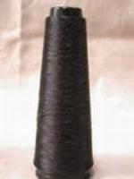 Grenadine Zijde ongekookt Zwart cordonnet 3x48den= 144 Den 300 meter/cone