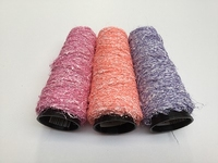 Latex (rubber) Mohair 3 hipster colors 100 meter /cone