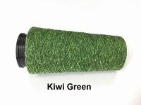 Bourette de Luxe zijde 20 Nm Kiwi Green 500 meter/cone