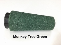 Bourette de Luxe zijde 20 Nm Monkey Tree Green 500 meter/cone