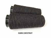 Bourette de Luxe zijde 20 Nm Dark Chestnut 500 meter/cone