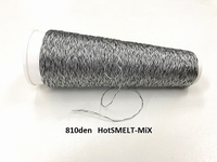 Hot smelt super tech Mix  color black  810 deniers +100meter
