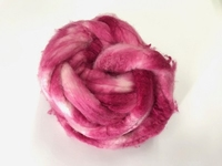 EUROPEAN cashmere fibres 15,2mic  color pink bordeua  25 gram