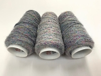 Hautecouture micropaillettes Baby alpaca  soft greyish 4126 +50gr  150mt