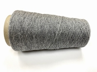 cashmere shetland blingbling Lace knit grey silverblinky 100gr 2000mt