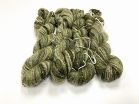Hautecouture micropaillettes Baby alpaca greenish 4126 +50gr  150mt