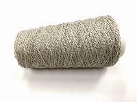 Leftover Special Mixxed ecrugrey  (spinning upcycling) +250mt +50gram