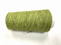 Leftover Special Mixxed greenish (spinning upcycling) +250mt +50gram