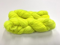 merinosoft super lace  color RADIACTIVE FLUO BANANA 100gr 1450met