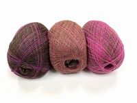 shetland lace fading colors black currants 1+1gratuite  +88 gram  1200m