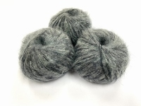 dirty children mohair super soft  color binair antraciet +-35gram = 315m
