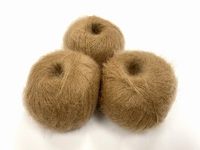 dirty children mohair super soft  color soft camel +-35gram = 315m