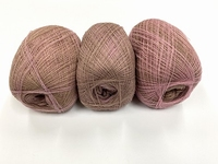 shetland lace fading colors english queen rose beige 1+1grat +88 gram  1200m