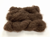 Scottish highland mohair color sepia brown +50gram +100met