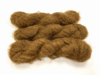 Scottish highland mohair color caramel yaune +50gram +100met