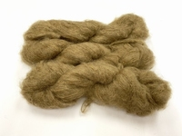 Scottish highland mohair color beige fonce +50gram +100met