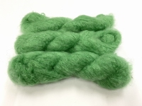 Scottish highland mohair color soft grass green +50gram +100met