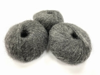 dirty children mohair super soft  color grey +-35gram = 315m