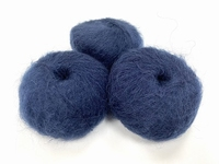 dirty children mohair super soft  color japan indigo +-35gram = 315m