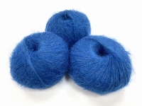 dirty children mohair super soft  color intens bleuï +-35gram = 315m