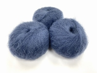 dirty children mohair super soft  color washed japan indigo +-35gram = 315m