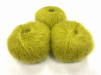 dirty children mohair super soft  color oakaplle yellow +-35gram = 315m