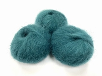 dirty children mohair super soft  color washed teal +-35gram = 315m