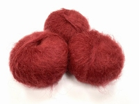 dirty children mohair super soft  color madeira wine +-35gram = 315m